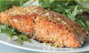 Get Your Omega-3s the Delicious Way: Walnut Crusted Salmon